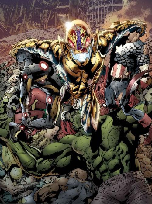 Imagem promocional de Age of Ultron